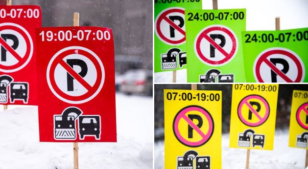 Winter parking in BIAs
